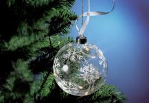 GLASKUGEL LED Dekorationskugel 13cm Beleuchtet Led132558
