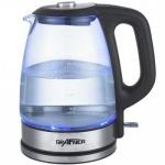 Grafner Glas Wasserkocher Teekessel Kaffee 1, 7L schnurlos 2200W 360° Teekocher