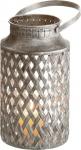 DRAGIMEX WINDLICHT Teelichthalter / 61641 Antik 13, 5x24, 5cm