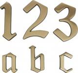 METAFRANC HAUSNUMMERN-MESS-BR.120MM Hausnummer 422007 422007-9-