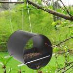 Vogelfutterstation aus Metall Vogelhaus Vogelvilla Vogelhäuschen Futterspender