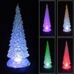 LED Weihnachtsbaum 25, 5cm mit Farbwechsler Christbaum Fensterdeko Weihnachtdeko