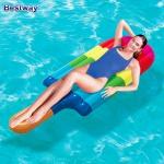 Bestway Luftmatratze Eis am Stiel Schwimmmatratze Wasserliege Badeinsel Pool