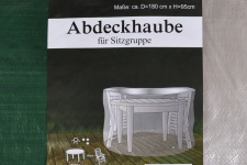 Abdeckhaube für Sitzgruppe Schutzhülle Abdeckung Abdeckplane Gartenmöbel Haube