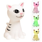 LED-Nachtlicht Katze Kitty Farbwechsel Schlummerlicht Einschlafhilfe Kinder Baby