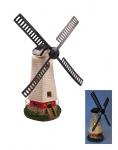 Solar-Windmühle 50cm LED Windrad Beleuchtung Garten Leuchte Landhaus Gartendeko