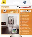fix-o-moll D-PROFILDICHTUNG D-Profil-Gummidichtungen 3565265 Ws.6m 6x9mm