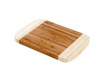 Bambusholz Küchenbrett Schneidebrett 30x20cm Holzbrett Tranchierbrett Hackblock