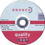 DRONCO SCHRUPPSCHEIBE Schruppscheiben für Metall 3116020 115 Mm