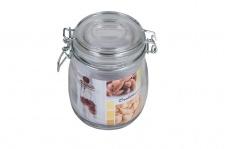 Drahtbügelglas 0, 7 Liter Einmachgläser Einweckgläser Vorratsgläser Sturtzglas
