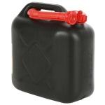 Benzinkanister 10L mit Stutzen Kraftstoffkanister Reservekanister Kunststoff