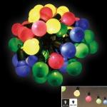 Party-Lichterkette mit 20 LED Glühlampen und Timer Partylicht Gartenbeleuchtung