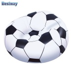 Aufblasbarer Sessel Fussball Sitzsack Relaxsessel Luftsessel Fernsehsessel Ball