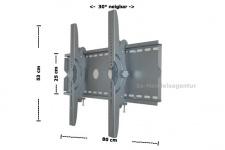 Plasma LCD TFT Wandhalterung TVY-30