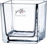 "Sandra Rich WINDLICHT ,, Cube"" 75-75-99 8cm Cube"