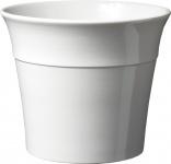 """SK SOENDGEN KERAMIK KüBEL Keramikübertopf ,, Olymp 496"""" 496/0050 12cm Olymp Weiss"""
