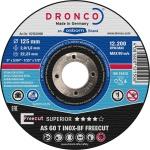 "DRONCO TRENNSCHEIBE Metalltrennscheiben ,, Inox Freecut"" 1121340 Freecut 125x2, 0"
