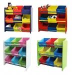 Kinderregal Kindermöbel Regal Ablage Spielzeugbox Spielzeugbox Kinderzimmerregal