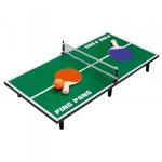 Mini Tischtennisplatte 60x7x30cm Tischtennis Minitennis Netz Schläger Tennisball