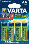 """Varta Akkubatterien ,, ready 2 use"""" 56706-101-404 Accu-batt.mignon"""