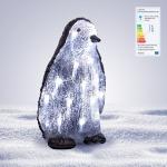 LED-Acryl-Pinguin Höhe 27cm Acryl Beleuchtung 16 Lämpchen Figur Innen- Außendeko