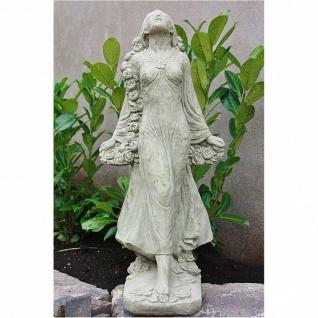 Rosemarie RosenmÄdchen Frau Skulptur Steinguss Frostfest Figur Neu Su-2175 - Vorschau 1