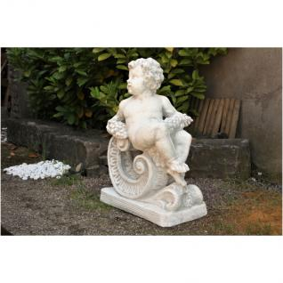 Steinfigur Herbst, Skulptur aus Steinguss, patiniert, 88 kg schwer! - Vorschau 2