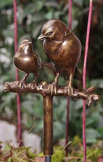Bronzefigur Zwei Vögel, Figur aus Bronze Vogel Vögel