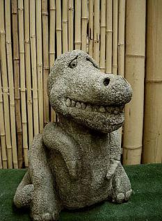 Steinfigur, Drache Dino, Drache aus Steinguss
