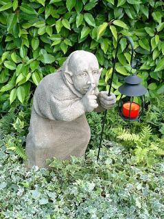 Steinfigur Tom der Schleicher von Pheeberts frostfest