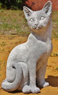 Kaze, Tierfigur aus Steinguss, Katzen