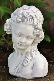 Steinfigur Frauen Büste Herbst, Halbfigur aus Steinguss - Vorschau 2