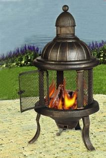 Feuerstelle Poseidon, Ofen, Grill, Kamin aus Eisen
