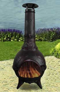 Feuerstelle Jupiter, Ofen, Grill, Kamin aus Eisen