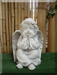 Engel gelangweilt , sitzend für Garten , Friedhof & Balkon