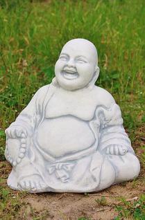 Buddha, sitzend für Garten & Teich