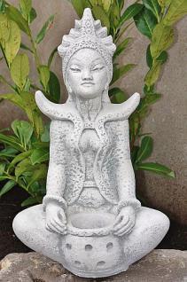 Reisgöttin groß für Garten/ Steinguss
