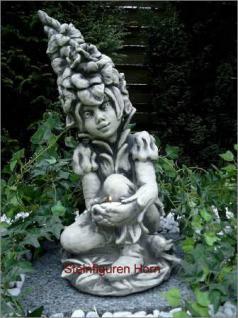 Steinfigur Gladiole, Figur aus Steinguss