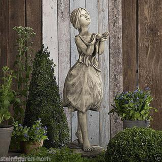 Steinfigur Blütendame Tulpe, Figur aus Steinguss