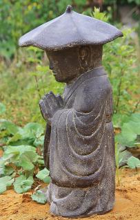 Steinfigur Buddha 60 cm 38 kg frostfest - Vorschau 2