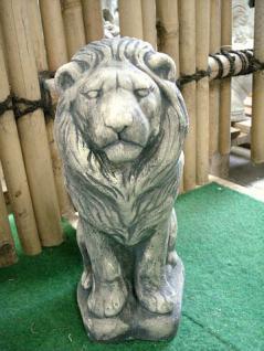 löwe klein , sitzend für Garten & Balkon oder zur Innendekoration