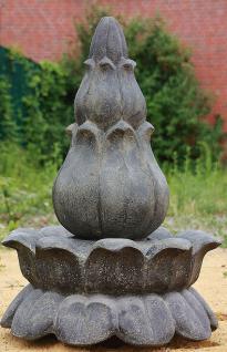 Steinfigur Springbrunnen Wasserspiel aus Steinguss