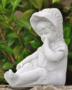 Steinfigur Kleines Kind Skulptur - Vorschau