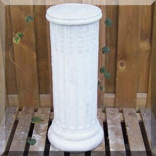 Steinfigur Sockel aus Steinguss, Säule für Garten & Teich
