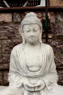 Steinfigur Buddha 93 cm aus Steinguss Frostfest ! - Vorschau 2