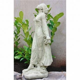 Rosemarie RosenmÄdchen Frau Skulptur Steinguss Frostfest Figur Neu Su-2175 - Vorschau 2