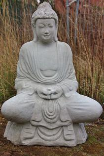 Steinfigur Buddha 93 cm 125 kg frostfest