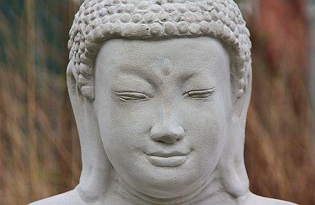 Steinfigur Buddha 93 cm 125 kg frostfest - Vorschau 5