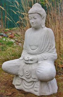 Steinfigur Buddha 93 cm 125 kg frostfest - Vorschau 2