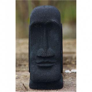 Steinfiguren Osterinsel Kopf, Skulptur aus Lavasteinguss